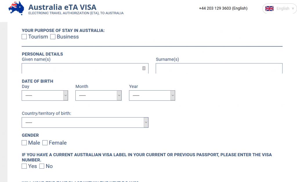australia-form Online Visa Application Form For Czech Republic on