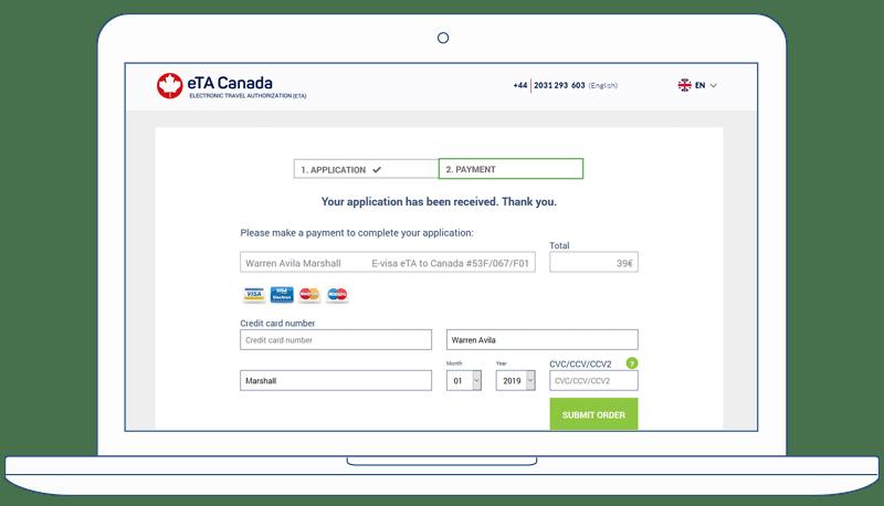Eta Canada Canadian Visa Application Form E Visa Express
